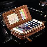 Best iPhoneの6 PLUSのカバー - iphone7 plus ケース 手帳型 財布型 カード収納 大容量 ブランド Review