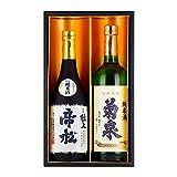 日本酒純米ギフトセット 特別純米 帝松 純米 菊泉 埼玉 720mlx2本