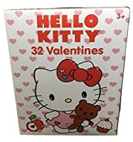 Hello Kitty 32 Valentines Friendship Exchangeカード