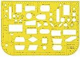 ウチダ テンプレート 能率定規 1-843-1601