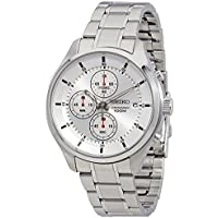 セイコー SEIKO クロノ クオーツ メンズ 腕時計 SKS535P1 シルバー[並行輸入品]