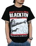 (ブラクトン) BLACKTON tシャツ メンズ AROUND ME ロゴ プリント 半袖 ティーシャツ クルーネック トップス bt-rem-11-03