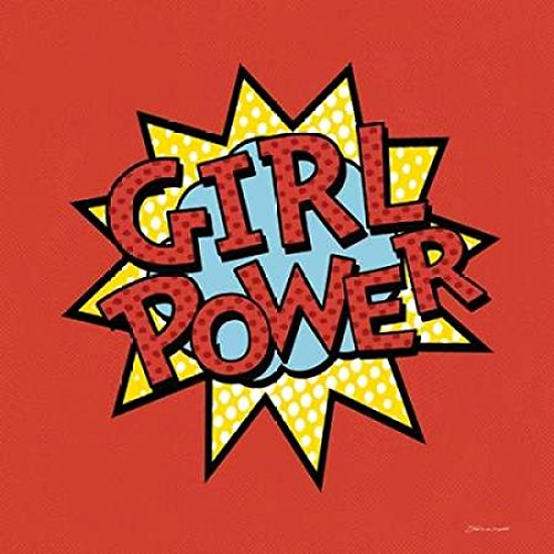 Girl Powerポスター印刷by Stephanie Marrott ( 12?x 12)