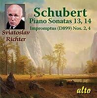 Schubert: Piano Sonatas Nos. 13 & 14,D.664,784 / Impromptus Nos. 2 & 4,D.899 (2010-05-03)