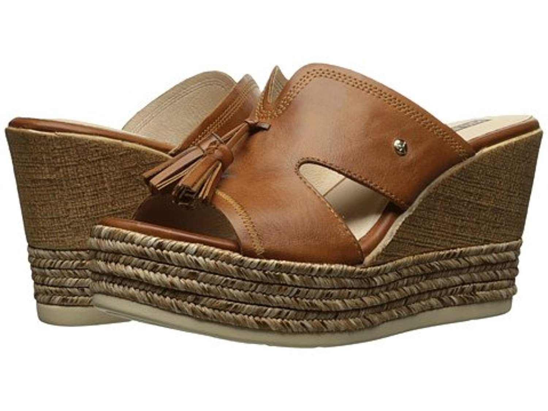 (ピコリノス)Pikolinos レディースファッションサンダル?靴 Alhambra W4K-0885 Brandy Cuero US Women's 7.5-8 24.0cm B - Medium [並行輸入品]