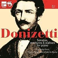 ドニゼッティ:ピアノのためのシンフォニアとワルツ集、4手のためのピアノ曲集