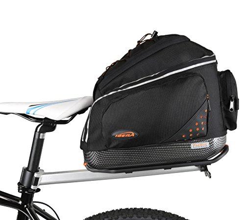 Ibera(イベラ) 自転車用シートポスト取付型コミューターキャリア(IB-BA11)と 着脱が容易なコミューターバッグ(IB-RA11) のコンボ