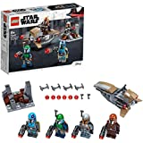 LEGO Star Wars Mandalorian Battle Pack 75267 Mandalorian Shock Troopers and Speeder Bike Building Kit; Great Gift Idea for Any Fan of Star Wars: The Mandalorian TV Series