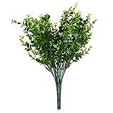 人工観葉植物 人工植物 小葉 造花 人工ユーカリ草 2束 ホーム インテリア
