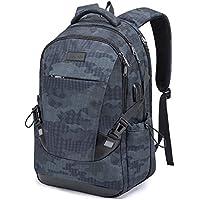 Tzowla Travel Laptop Backpack Anti-Theft Water Resistant Business Backpack TSA Lock & USB Charging Port TSA Friendly Computer Backpack Men Women College School Bag Fit 16 inch Laptops… (Blue)