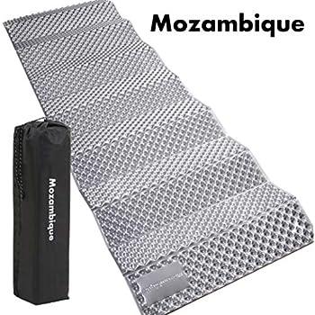 Mozambique(モザンビーク) キャンプ マット アウトドアマット レジャーマット 車中泊 極厚20mm【何年も使える耐久性 1年保証】