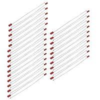 uxcell ケーブルタイ ジップ レッド メタル 長さ420mm 27mm x 13mmラベル 自己ロック 50個入り