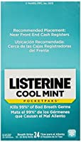 LISTERINE 524336500 Pocketpaks Breath Strips, Cool Mint, 24 Count (Pack of 12) by Listerine Pocketpaks [並行輸入品]