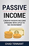 Passive Income: Create Passive Income Streams with Little to No Investment (English Edition)