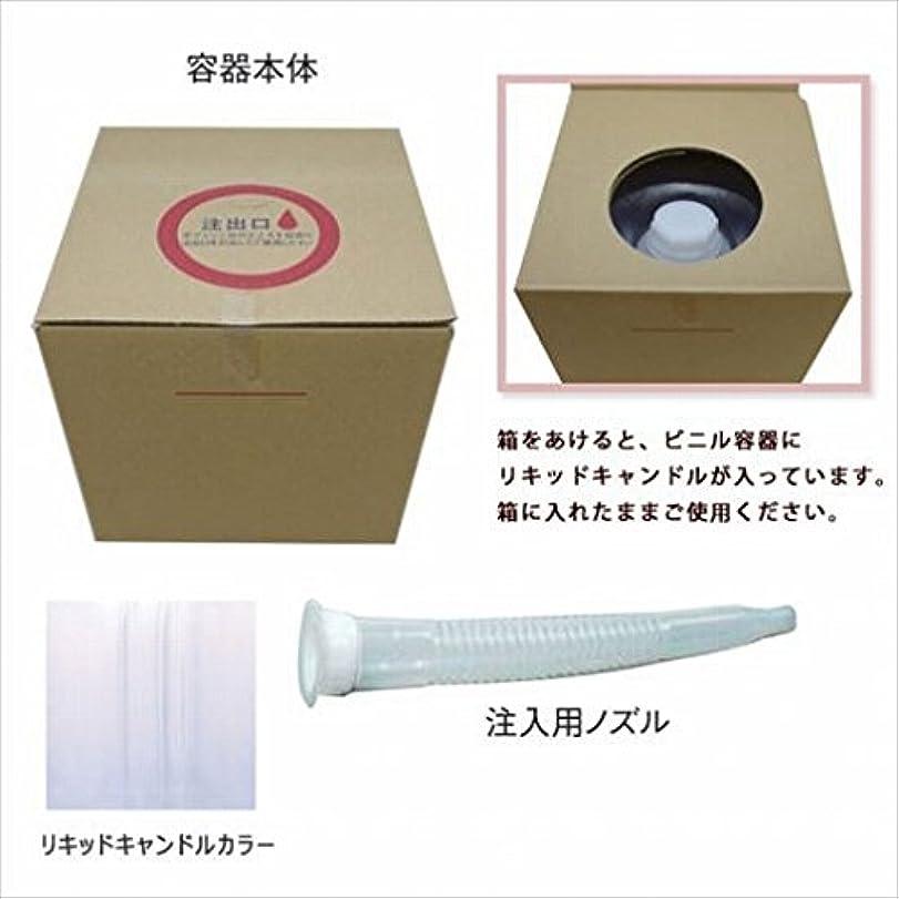 迫害する水っぽい公平なカメヤマキャンドル(kameyama candle) リキッドキャンドル5リットル 「 クリア 」