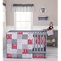 Trend Lab 3 Piece Dr. Seuss Cat and Things Crib Bedding Set [並行輸入品]