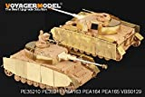 WWⅡドイツ軍 Ⅳ号戦車H型後期/J型用付加装甲 汎用[PEA163] 1/35 WWII German Pz.Kpfw.IV Ausf.H late Production/Ausf.J Turret Armour (For All)