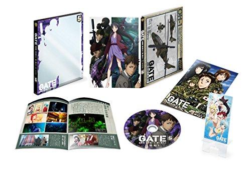 GATE 自衛隊 彼の地にて 斯く戦えり  Vol.5 接触編V &lt 初回生産限定版&gt   DVD