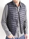 (オークランド) Oakland インナー ダウン フェザー 防寒 スタイリッシュ 暖 レイヤード 毛 メンズ ネイビー Lサイズ