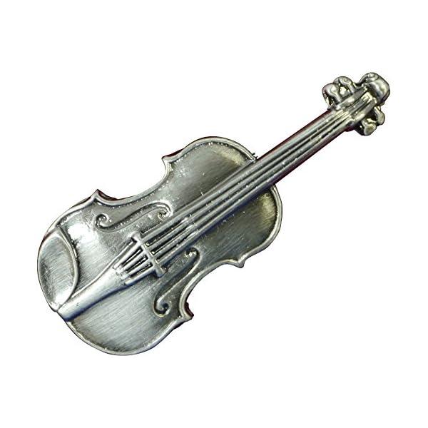 ナカノ スタンダードブローチ バイオリン シルバ...の商品画像
