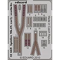 Spitfire Mk IX Early Seatbelts for Tam ( Painted ) 1 – 32 Eduard