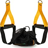 CampTeck U6836 Heavy Duty Grip Handles Attachments for Resistance Bands, Suspension Trainer, Cable Machine, Home Gym etc with Carrying Pouch