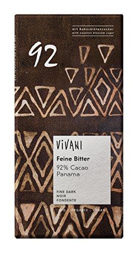 ヴィヴァーニ オーガニックエキストラダークチョコレート92% 80g