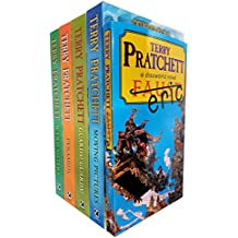 discworld novel series 2 :6 to 10 books collection set (wyrd sisters, pyramids, guards! guards!, eric, moving pictures)
