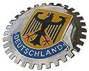 Deutschland (ドイツ)車グリルバッジ