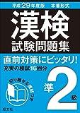 平成29年度版 漢検試験問題集
