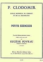 クロドマイヤー : 小練習曲 (トランペット教則本) ルデュック出版