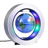 磁気浮上 地球儀 浮遊・回転...