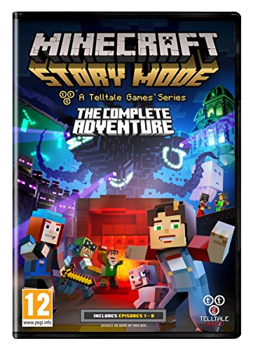 Minecraft Story Mode Complete Adventure (PC DVD) (輸入版)