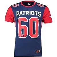 マジェスティック (Majestic) メッシュ ポリエステル ジャージー ティーシャツ - ニューイングランド?ペイトリオッツ (New England Patriots)