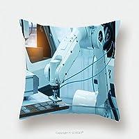 カスタムサテン枕カバープロテクター本番マイクロチップボードチップを組み立てる技術プロセス工場製造526330927枕ケースカバー装飾用