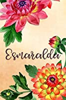 Esmaralda: Personalized Journal for Her (Su Diario)