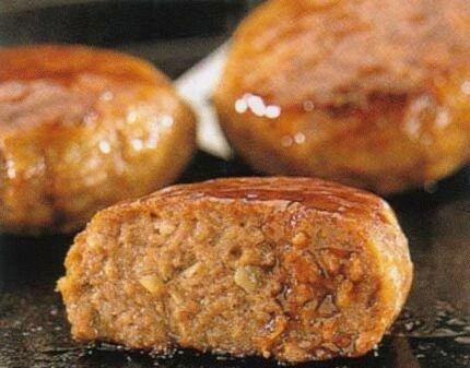 AJINOMOTO 味の素 冷凍食品 あらびきハンバーグ 110g