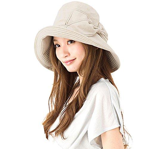 S&C Live 帽子レディース つば広 UVカット 紫外線...