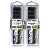 2GBキット( 2x 1GB ) for EliteGroup ( ECS )マザーボードk8m800-m21.02.0K8t890-a754km400a-m2デラックスl4igem2l4ipea2l4s5mg / GL + l4s5mg / GX +。ECC DIMM DDR pc2100266MHz RAMメモリ。A - Techブランド純正。