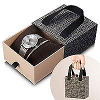 SK SHENGKE レディース腕時計ブレスレットジュエリーセット クォーツレディース腕時計セット リストレットセット K0059-SR+SET+KK
