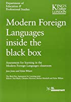 Modern Foreign Languages Inside the Black Box: Assessment