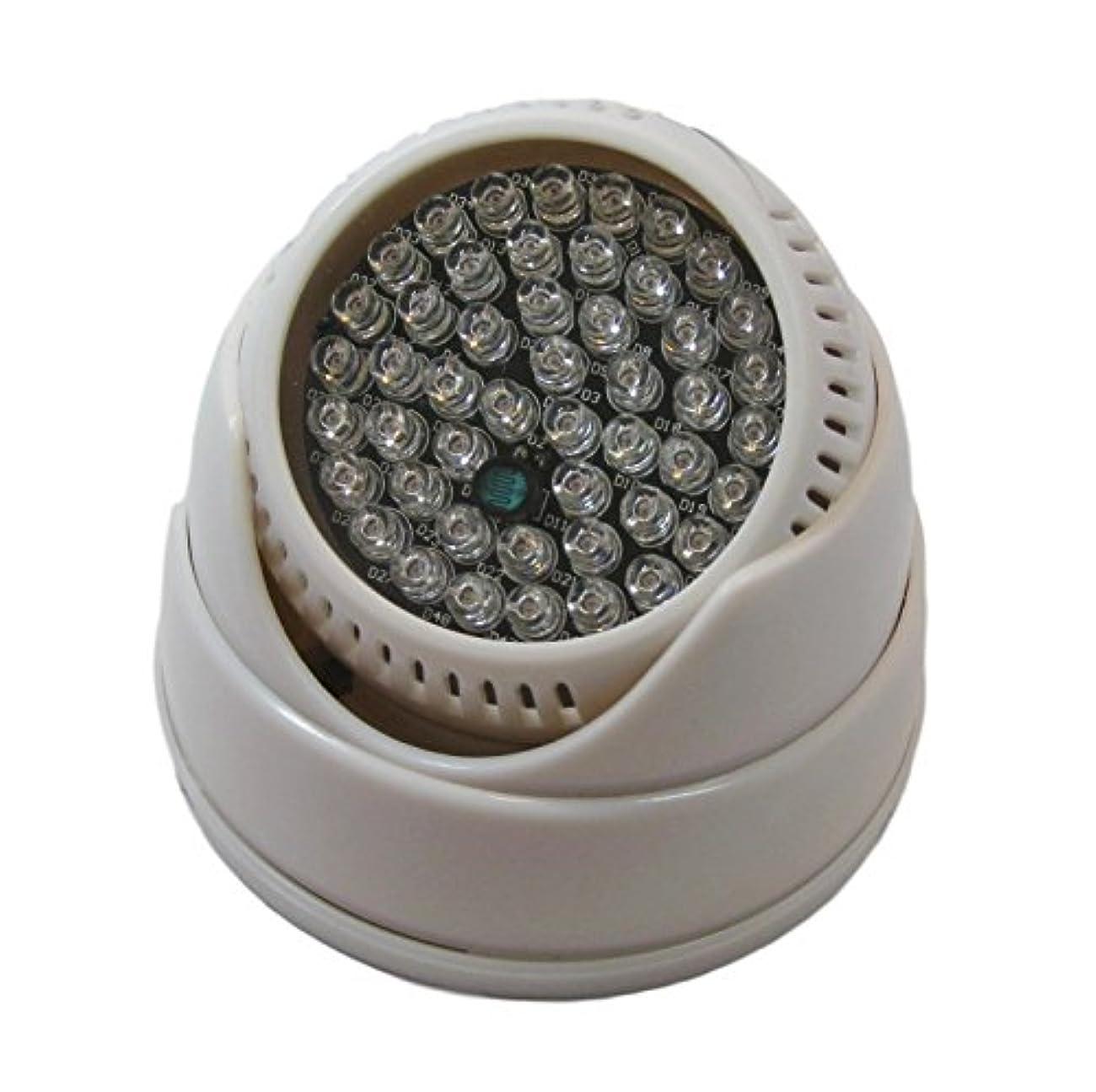 かみそり申込み部分的にStork Corp 赤外線 照明 ライト LED 48灯 光量センサー 自動点灯 940nm (ホワイト)