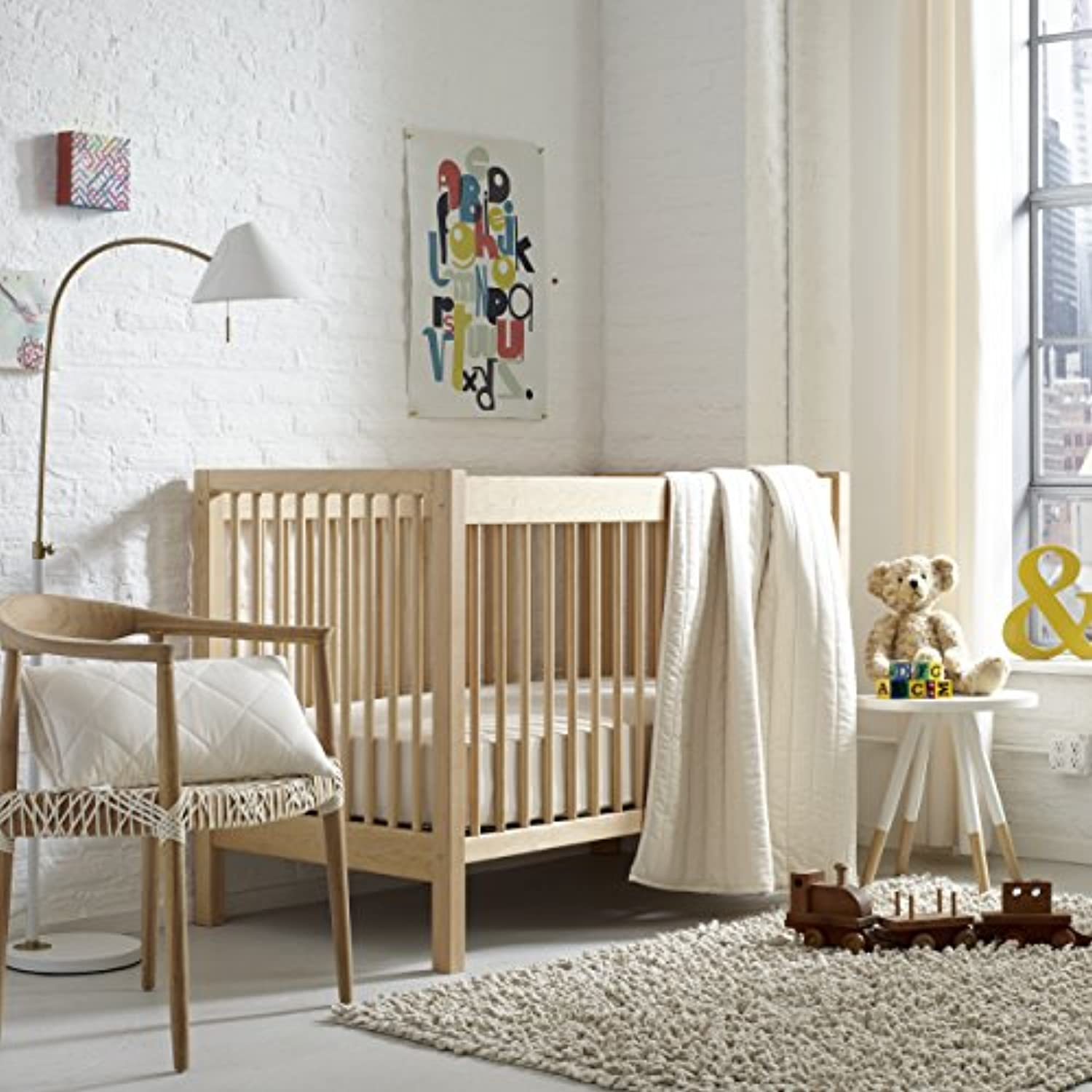 Greenbuds Natural Neutrals Crib/Toddler Bedding (Set of 3) by Greenbuds