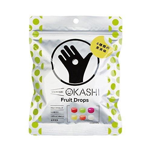 イザメシ 長期保存食 イザメシ IZAMESHI OKASHI フルーツドロップ×50個