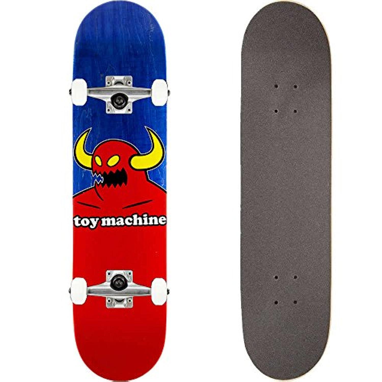 TOY MACHINE(トイマシーン) スケートボード コンプリート (完成品) MONSTER #03 BLUE 【高品質パーツ使用 ブランド純正品】 スケボー C15131bl (8 x 31.625)