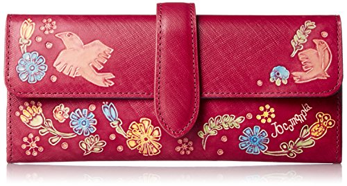 [ホコモモラ] 「パーヴォ」中Iファスナー付長財布 「パーヴォ」中Iファスナー付長財布 5381103 32 ピンク