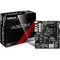 ASRock AMD A320チップセット搭載 Micro ATX マザーボード A320M
