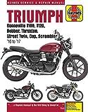 ヘインズ整備マニュアル「Triumph Bonneville 900cc & 1200cc」
