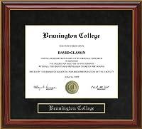大学卒業証書Benningtonフレーム vt-bennington-91-maho