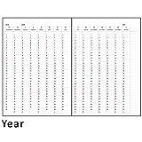 ラ・アプス 手帳 リフィル 2020年 B6 ウィークリー AG-2700 (2019年 11月始まり)